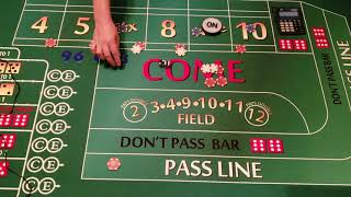 """Answering e-mails and How to be a """"guarantee"""" winner at craps, with a 90 percent win percentage."""