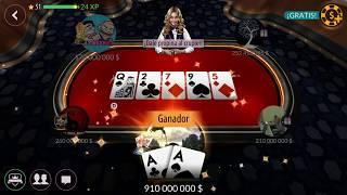 Texas Holdem Poker – Road To 1 Billion in 5 Mins , 200m Table !! zyngapoker