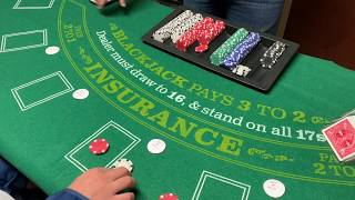 Playing Free Bet Blackjack (My Own strategy)