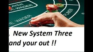 Baccarat Winning Strategies with M.M. NEW SYSTEM !! 6/9/19