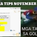 KARERA TIPS NOVEMBER 26 2019 by MASTER MANDARAYA