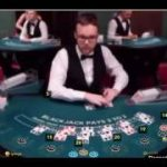 Huge tilt perfect pair blackjack big win