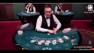 Huge tilt perfect pair blackjack big win