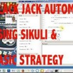 Online Blackjack Automation using Sikuli & Basic Strategy