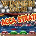 5D Acca Roulette Strategy – £80 profit in a few minutes!