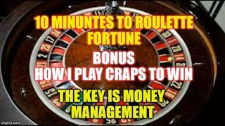 How I Play Craps and WIN!