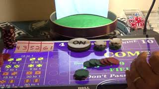 Gold Window Craps Strategy Documented Session #2