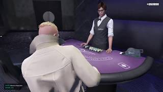 GTA Diamond Casino BLACKJACK Strategy