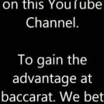 How to win at baccarat card counting by John Stathis