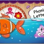 Letter F   Phonics   Flower, Fish, Flute   Words   Phonics Song   Roulette Game   Kids English