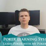 Learn Poker – Poker strategy with My Poker Coaching