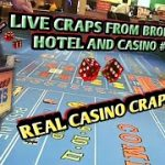 Craps Real Live Casino #5 PART 1 – Drew rolled great!
