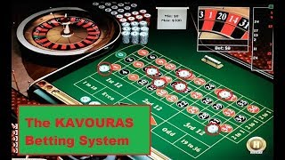The KAVOURAS Roulette Strategy – An horrible betting system ?
