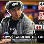 When you flop a SET and get ACTION! – A Poker Compilation!