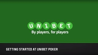 Learn the Basics of Playing Poker at Unibet