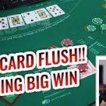 CHASING BIG WINS in High Card Flush