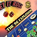 Craps Strategy – THE 96 EXPLOSION a high risk strategy to try to win at craps!