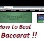 Baccarat Winning Strategies with Money Management .. 10/2/19