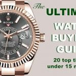 The ULTIMATE Rolex watch buyers check list – 20 top watch buying tips in under 15 minutes