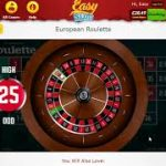 European Roulette Game on Easy Slots