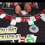 HIGH LIMIT BLACKJACK with High Limit Las Vegas Dealer – $15,000 Blackjack Session
