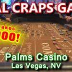 Live Craps Game #39 – EPIC 35+ ROLLS! – Palms Casino, Las Vegas, NV – Inside the Casino