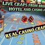 Craps Real Live Casino #6 PART 1 – Up and down session