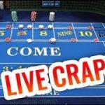 LIVE CRAPS Action!! – Craps Session with Patreon #1