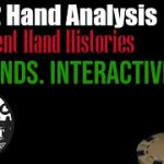 1/2 Hand Analysis! Live Poker Cash Game HHs from 3 students! Detroit Live Poker Vlog #50!