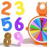 Learn Numbers 3D Toy Bear Roulette Numbers Fun and Kids