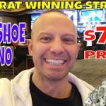 Baccarat Winner At Horseshoe Casino Indiana Makes $760 With Baccarat Winning Strategy.