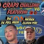 $100 Craps Challenge – Can me and a few fellow You tubers turn $100 bank roll into a profit?