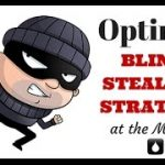 Optimal Blind Stealing Strategy at the Micros