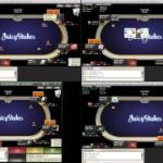 Cash Texas Holdem 50NL – Live Stream – 6 Max Online Cash Game Poker Strategy- pt 2
