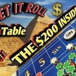 Craps $10 Table Strategy – THE $200 INSIDE Strategy to try to win at craps!