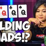 Kym Lim FOLDS QUADS in a Live Poker Cash Game!