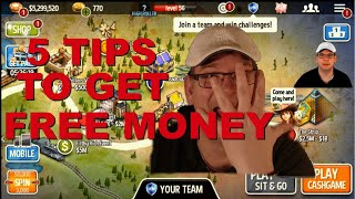 5 Tips to get free money on Governor of Poker 3