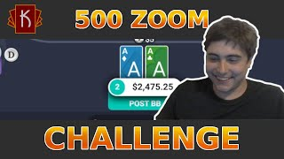 Ignition Poker 500z Challenge – 4 Hour GRIND