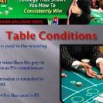 How To Play and Win At Baccarat
