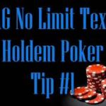 Tight Aggressive No Limit Texas Holdem Poker — 3 Tips For