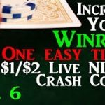 Increase your winrate in live 1/2 cash games! Poker Strategy – Live 1/2 NLHE Crash Course EP06