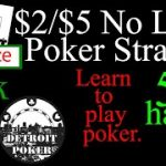 $2/$5 No Limit Holdem Live Cash Game Poker Strategy! Detroit Poker Vlog #46! Hand analysis 5 hands!