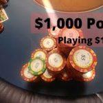 HUGE $1,000 Pot playing $1/$3 – BIGGEST Win of the Vlog – Poker Vlog 2019 Ep 9 – Poker Vlog 1/2