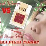 Jum'at Wangi: BACCARAT ROUGE 540 EAU DP 🆚 EXTRAIT DP! Beli yang Mana?!?