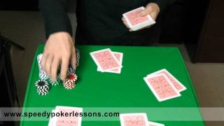 Example of Small Blinds and Big Blinds in Texas Holdem Poker