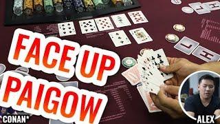 FACE UP Paigow Poker +Celebration – Live Paigow Poker #2