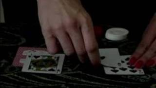Learn to Play Blackjack from a Dealer : Dealer Showing Cards in Blackjack