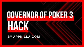 Hack Governor of Poker 3 Easily With Our New Cheats (2020)