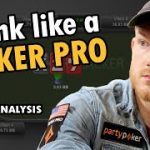 How To THINK Like A Poker Pro [River Strategy Analysis]