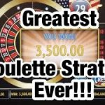 -LIVE PLAY- TESTING THE GREATEST ROULETTE STRATEGY EVER MADE! *100% WIN*
